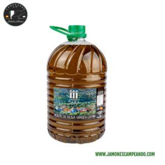 Aceite de oliva virgen e