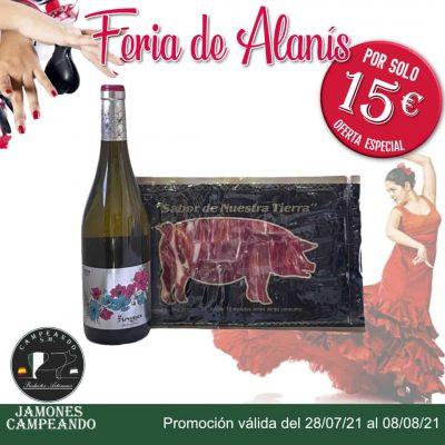 Promoción especial Feria Alanis2021